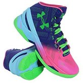 "Under Armour Curry 2 ""Northern Lights"" Basketball Shoe Size 11 1259007-652"
