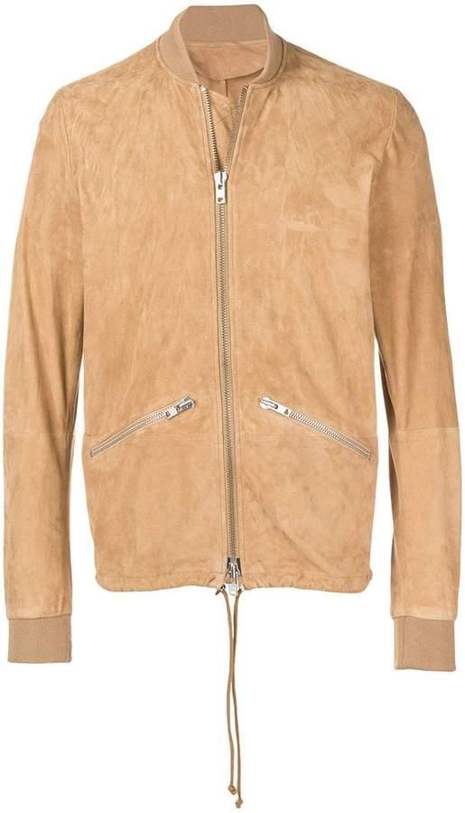 65f8030e373 Sword Leather Jacket Men - ShopStyle