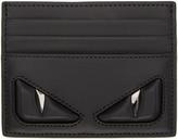 Fendi Black 'Bag Bug' Card Holder