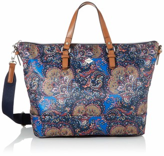 Oilily Women's Picnic Handbag Lhz Handbag 15 x 30 x 45 cm Blue Size: One size
