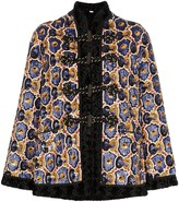 Gucci Sequin Embellished Faux Fur Coat