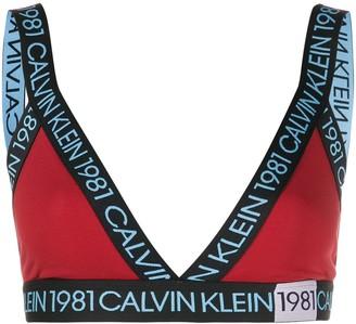Calvin Klein Underwear 1981 Triangle Bra