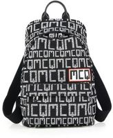 McQ by Alexander McQueen Signature Printed Cotton Backpack