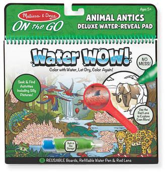 Melissa & Doug Water Wow Animal Antics Deluxe Water Reveal Pad