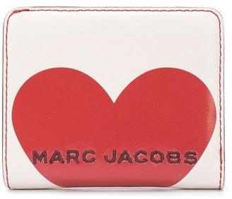 Marc Jacobs Logo Heart Wallet