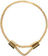 Gogo Philip Yasmin By Chunky Chain Necklace with Square Design
