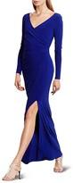 Lauren Ralph Lauren Crossover Gown