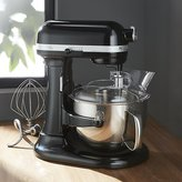 Crate & Barrel KitchenAid ® Professional 600 Onyx Black Stand Mixer