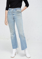 RE/DONE denim leandra no destruction jean