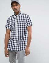 Jack and Jones Originals Short Sleeve Shirt in Slim Fit Check