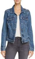 Paige Naveen Embellished Denim Jacket
