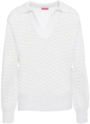 Kate Spade Open-knit Cotton Sweater