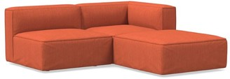 west elm Remi Slip Cover 3-Piece Sectional