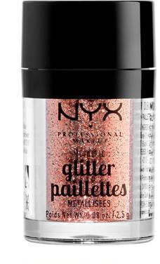 NYX Metallic Glitter 2.5g Dubai Bronze