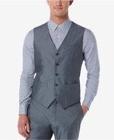 Perry Ellis Slim-Fit Chambray Vest