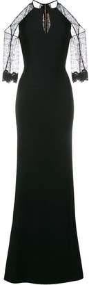 Roland Mouret Carrington cold-shoulder gown