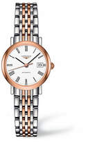 Longines Analog Rose Gold and Stainless Steel Watch