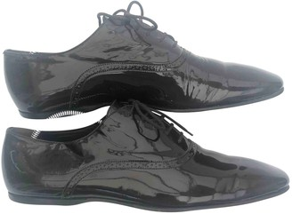 Burberry Brown Patent leather Lace ups