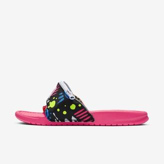 Nike Men's Slide Benassi JDI Fanny Pack Printed