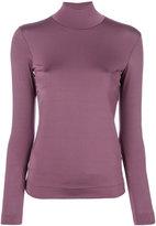 Golden Goose Deluxe Brand silky polo top - women - Polyamide/Spandex/Elastane - S