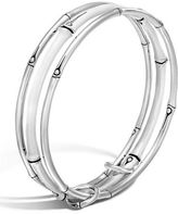 John Hardy Three-Row Linked Bamboo Bangle