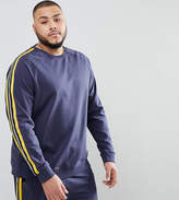 ONLY & SONS PLUS Sweatshirt With Track Stripe