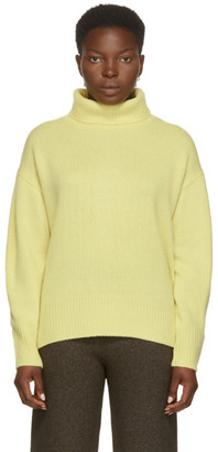 Arch4 Yellow Cashmere Worlds End Turtleneck