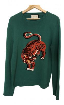 Gucci Green Wool Knitwear & Sweatshirts