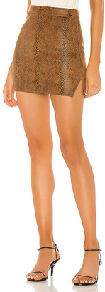 superdown Stella Slit Mini Skirt