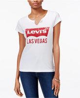 Levi's City Graphic Split-Neck T-Shirt