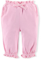 Ralph Lauren Girl Ruffled Cotton Pant