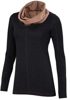Ibex Women's Dyad Cowl Neck Pullover