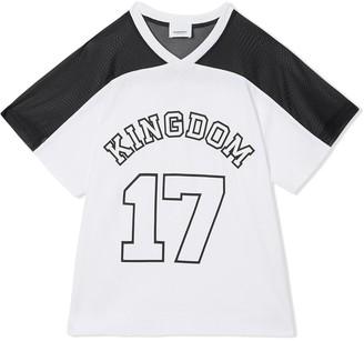 BURBERRY KIDS Kingdom print T-shirt
