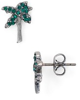 Marc Jacobs Palm Tree Stud Earrings