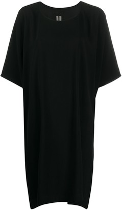 Rick Owens Tie-Waist Shift Dress