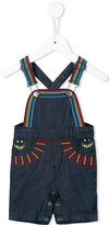 Stella McCartney embroidered dungarees - kids - Cotton - 6 mth