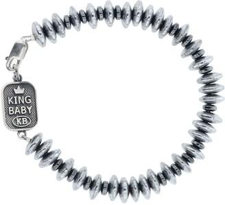 King Baby Studio Hematite Bead Bracelet