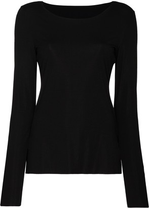 Wolford Aurora crew-neck top