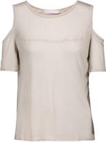 Kain Label Beverly cutout modal and silk-blend T-shirt