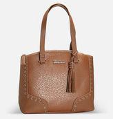 Avenue Emperor Tassel Satchel Hobo Handbag