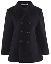 Dolce & Gabbana Navy Double Breasted Peacoat