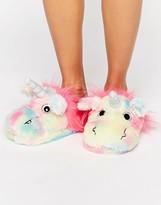 Asos NEVADA SKY Unicorn Slippers