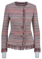 Tagliatore Tassel Trim Buttoned Jacket
