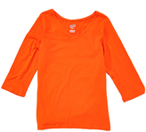 Soffe Texas Orange Three-Quarter Sleeve V-Neck Tee
