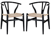 Modway Amish Dining Armchairs (Set of 2)