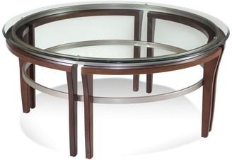 Bassett Mirror Fusion Round Cocktail Table