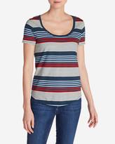 Eddie Bauer Women's Gypsum Striped T-Shirt