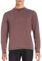Saks Fifth Avenue Burn Out Crewneck Pullover