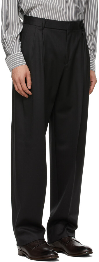 Thumbnail for your product : Ermenegildo Zegna Couture Black #UseTheExisting Trousers