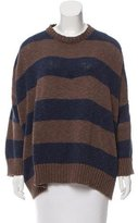 eskandar Oversize Striped Sweater